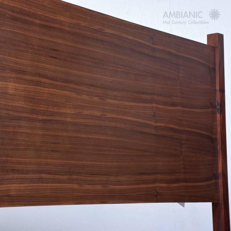 Walnut and Rosewood Bunkbeds Modern 8