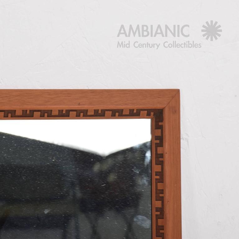 Mid-Century Modern Frank Lloyd Wright Mirror or Frame 2