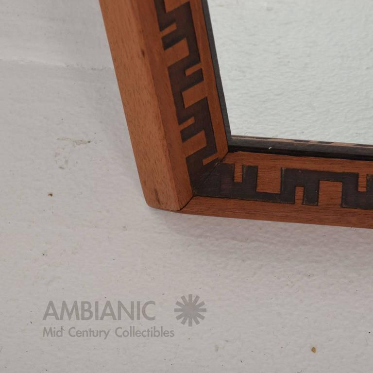 Mid-Century Modern Frank Lloyd Wright Mirror or Frame 3