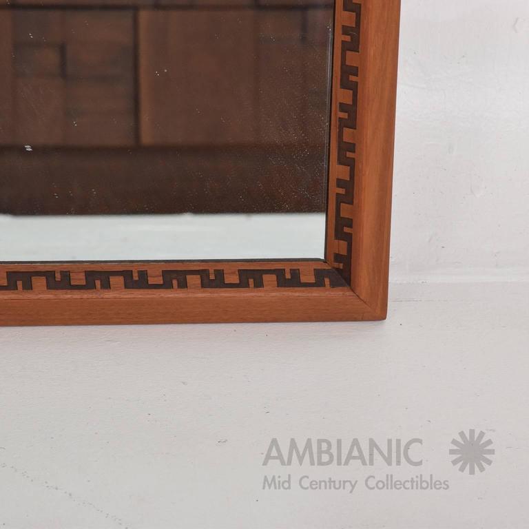 Mid-Century Modern Frank Lloyd Wright Mirror or Frame 4