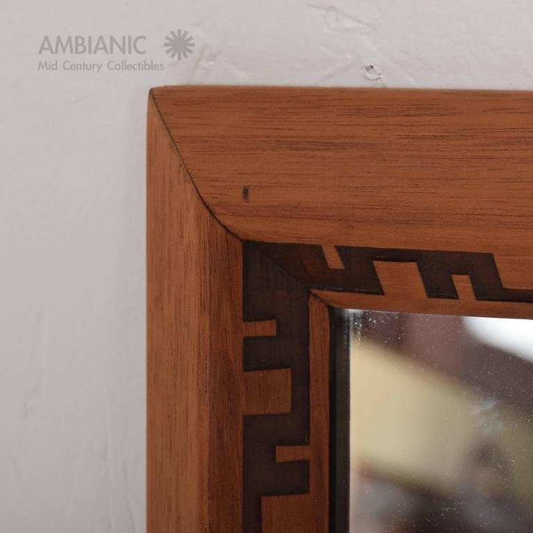 Mid-Century Modern Frank Lloyd Wright Mirror or Frame 5