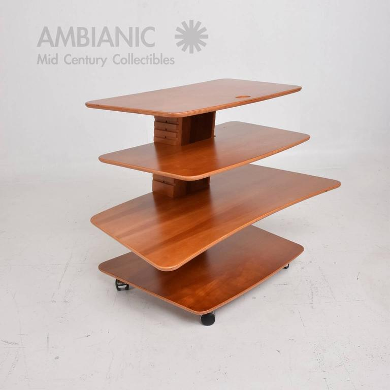 Teak Mid-Century Danish Modern Aksel Kjesgaard Book Stand Table Desk For Sale