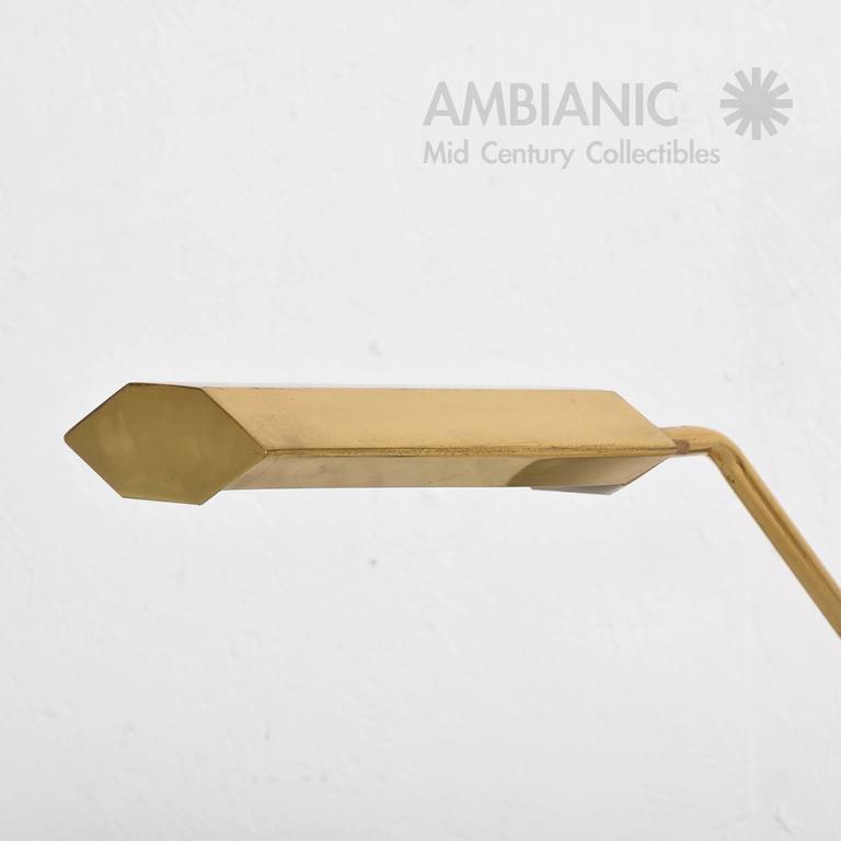 Mid-Century Modern Anthony Howard for Koch & Lowy Brass Desk Table Lamp 3