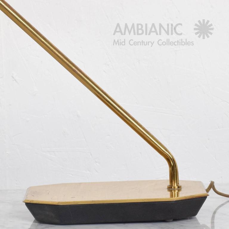 Mid-Century Modern Anthony Howard for Koch & Lowy Brass Desk Table Lamp 6