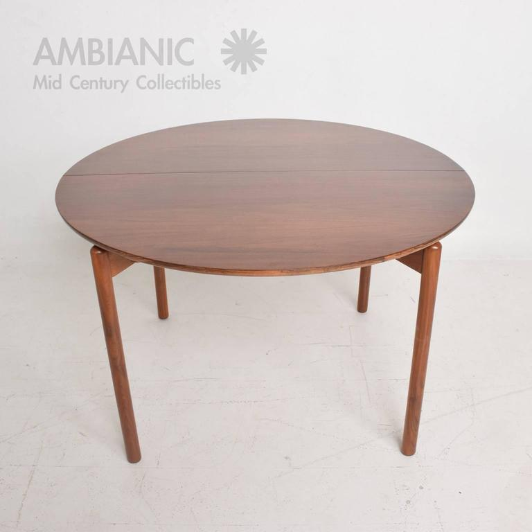 Mid Century Modern Walnut Dining Table By Greta Grossman For Sale At 1stdibs