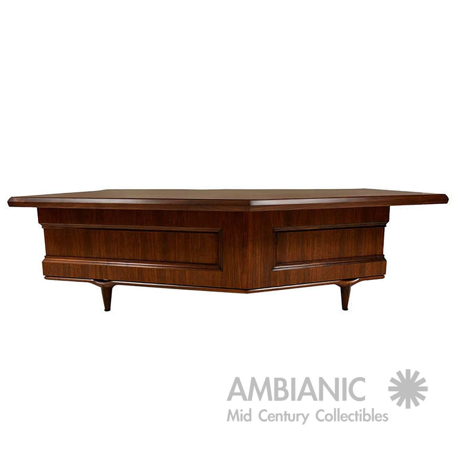 Monteverdi And Young Executive Desk For Sale At 1stdibs