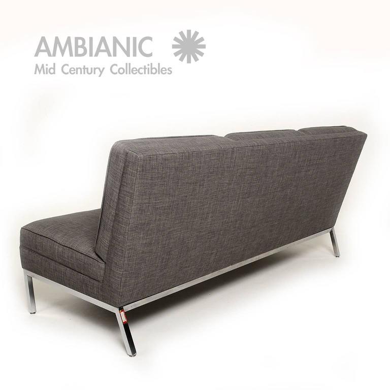 Mid Century Modern Mid Century Modern Steelcase Three Seater Sofa For Sale