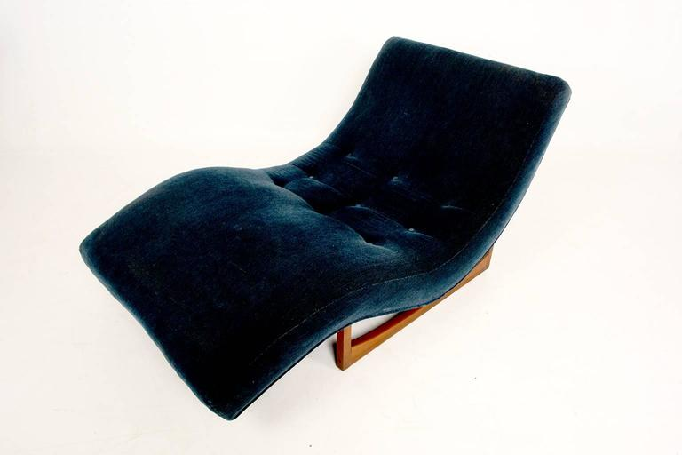 Adrian Pearsall Wave Chaise At 1stdibs