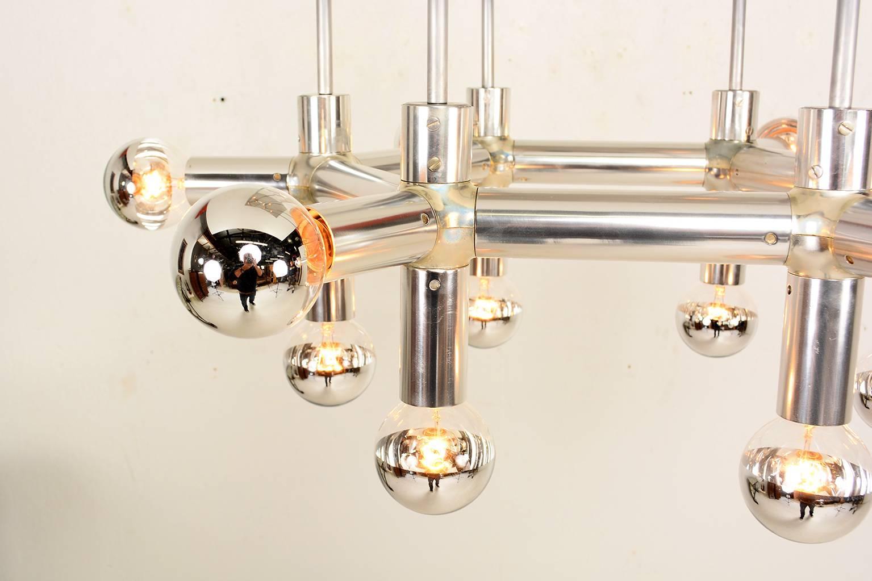 Robert haussmann atomic chandelier at 1stdibs arubaitofo Image collections