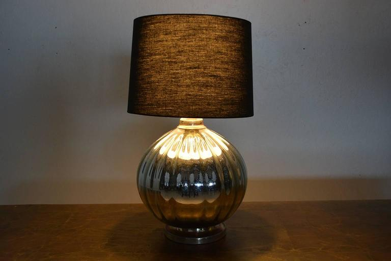 Mexican Modernist Mercury Table Lamp #2 In Excellent Condition For Sale In National City, CA