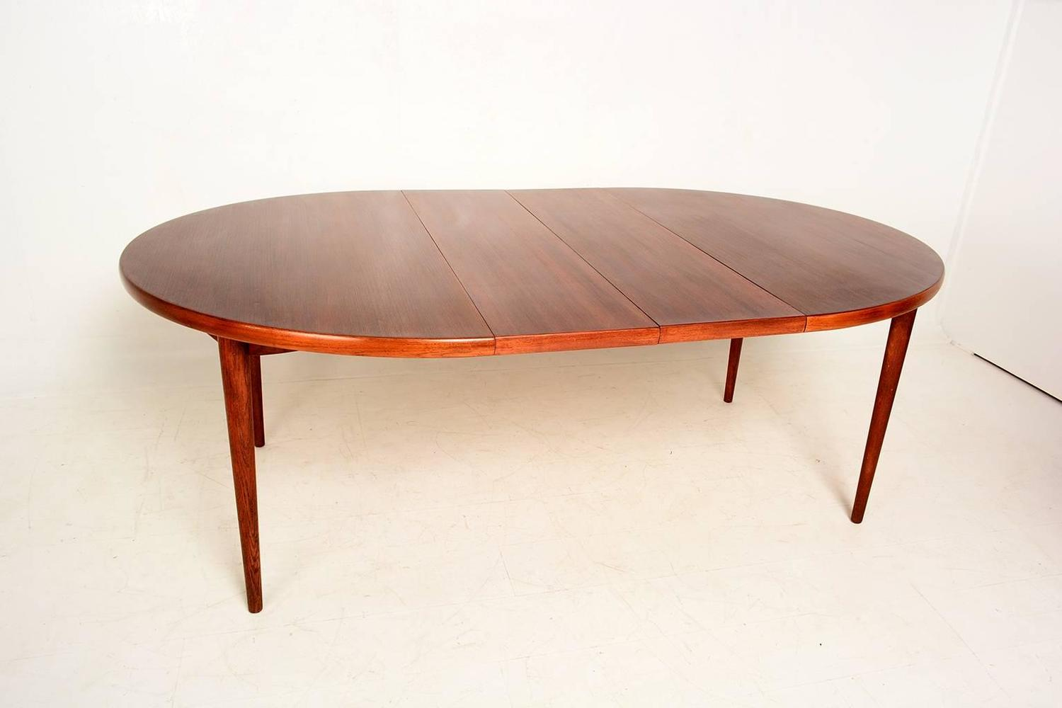Swedish Oval Dining Table Scandinavian Modern For Sale At 1stdibs