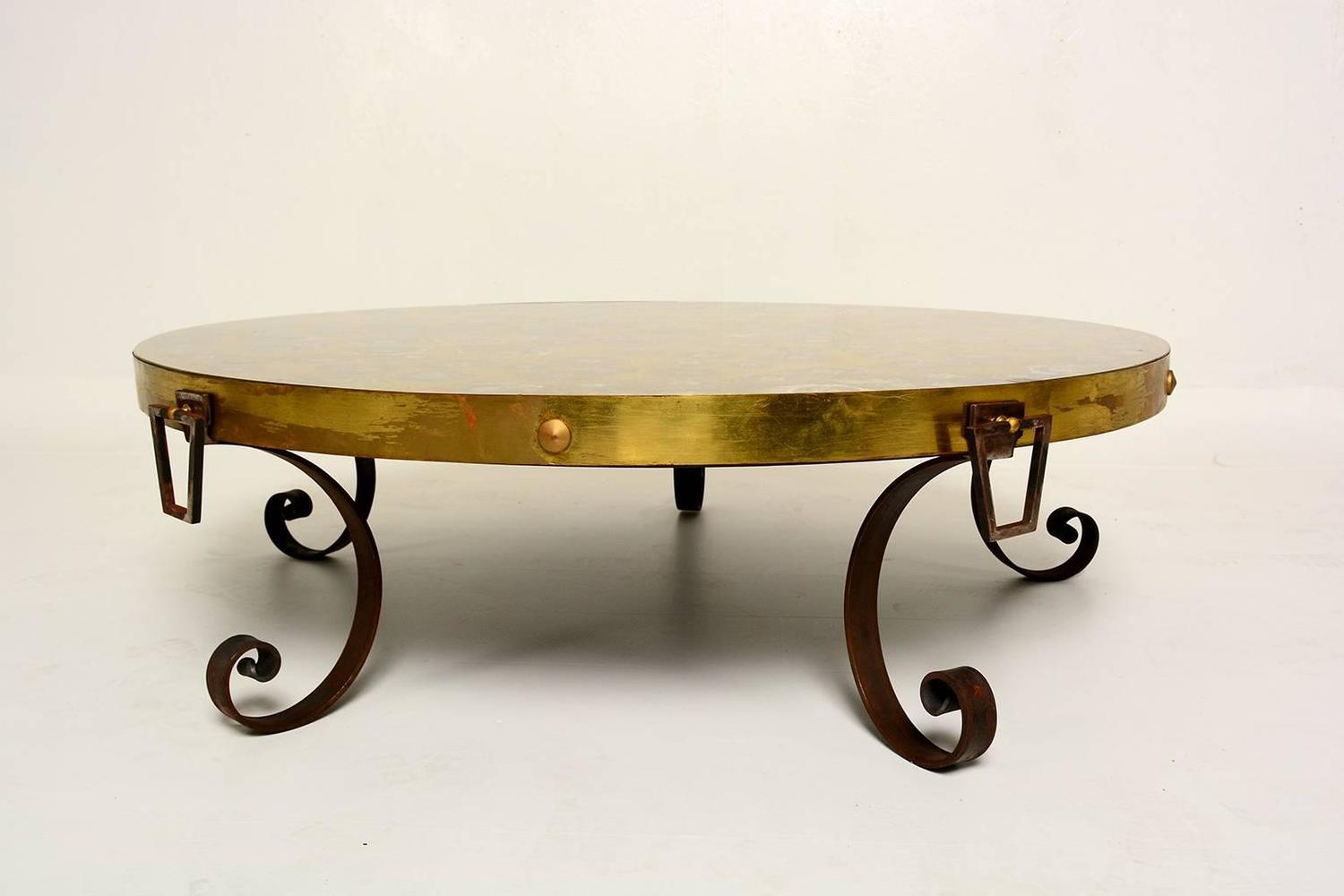 Mexican modernist cocktail table for sale at 1stdibs for Mexican style coffee table