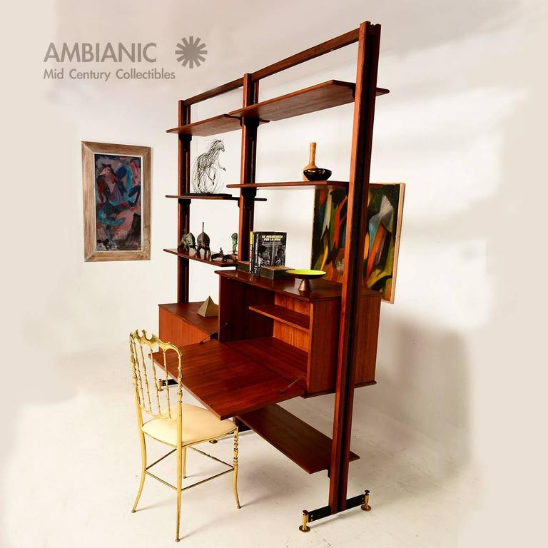 Mid Century Modern Italian Wall Unit For Sale At 1stdibs