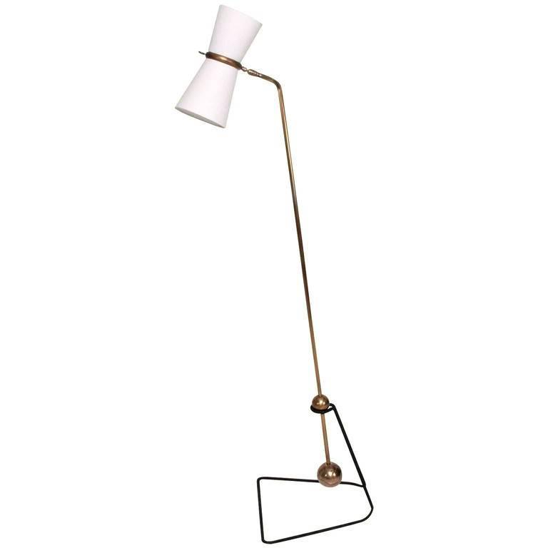 Pierre Guariche Style Floor Lamp
