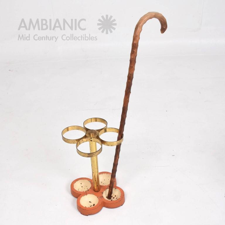 Mid-Century Modern European Umbrella or Cane Stand Holder In Good Condition For Sale In National City, CA