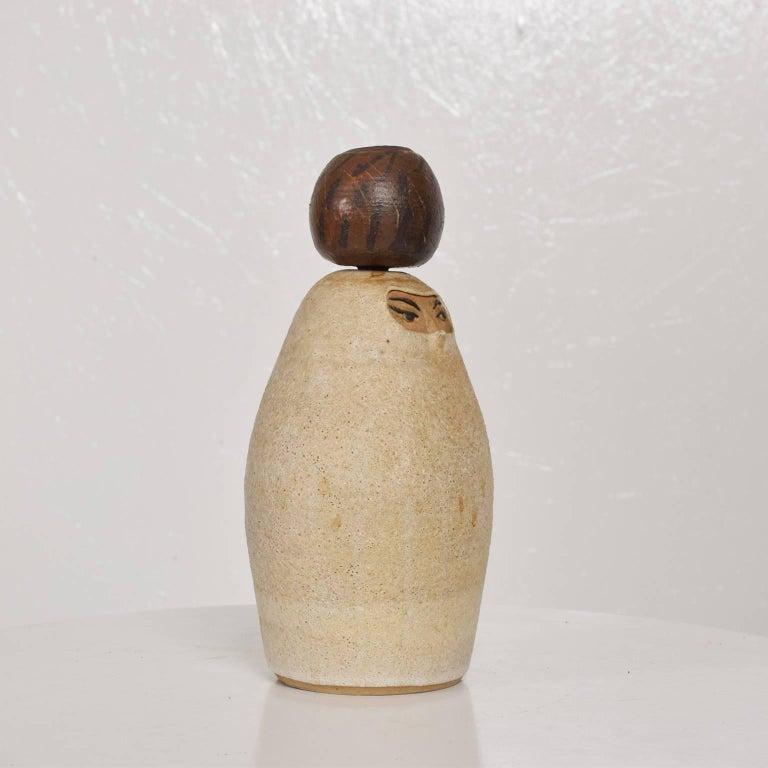 Bernice Huber Pottery Pitcher Mid-Century Modern Era For Sale 1