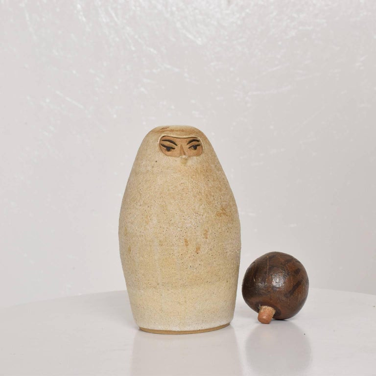 Bernice Huber Pottery Pitcher Mid-Century Modern Era For Sale 5