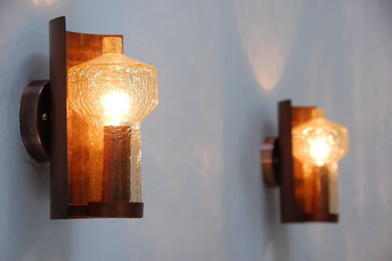 Six Kaiser Leuchten Sconces from Germany For Sale 3