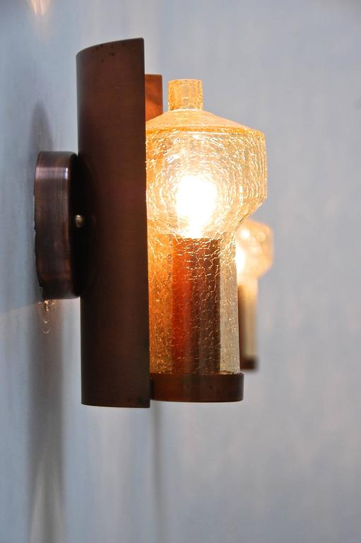 Six Kaiser Leuchten Sconces from Germany For Sale 2