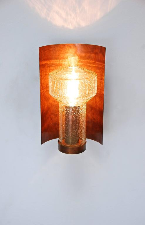 Wall Lamps Germany : Six Kaiser Leuchten Sconces from Germany For Sale at 1stdibs