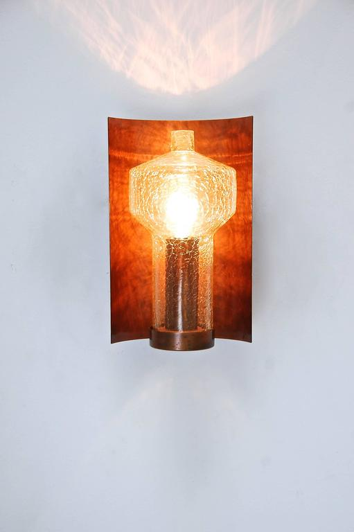 Mid-20th Century Six Kaiser Leuchten Sconces from Germany For Sale