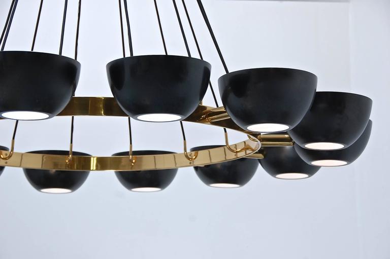 LUfatti Chandelier by Lumfardo Luminaires In Excellent Condition For Sale In Los Angeles, CA