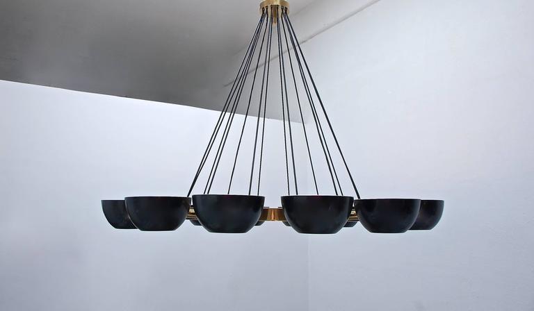 American LUfatti Chandelier by Lumfardo Luminaires For Sale