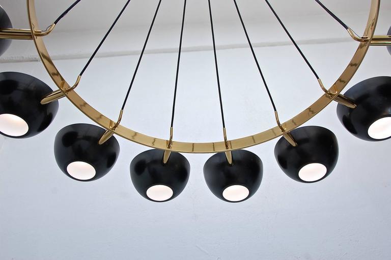 LUfatti Chandelier by Lumfardo Luminaires For Sale 1