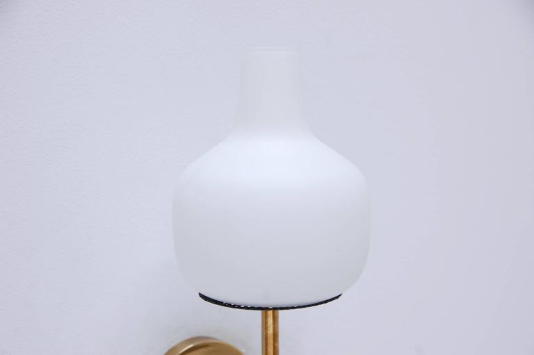 Contemporary Italian Wall Sconces : Single Mid-Century Modern Italian Sconce For Sale at 1stdibs
