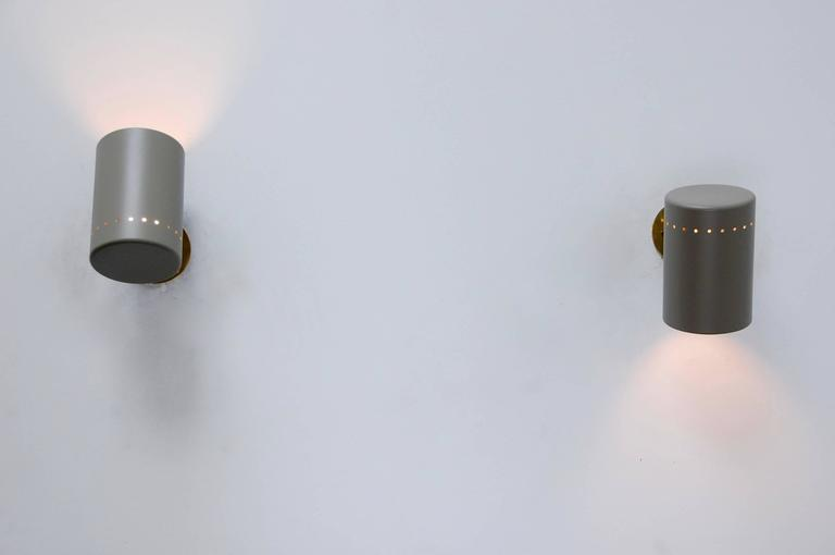 Lightolier Exterior Wall Sconces : Lightolier Sconces at 1stdibs