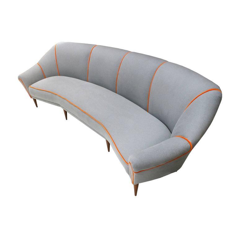 Four Seat Sofa at 1stdibs