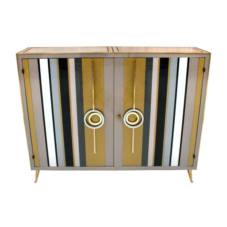 Murano Glass Sideboard at 1stdibs