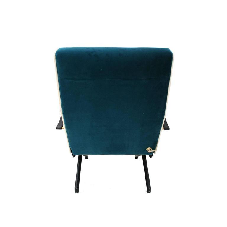 Lounge Chair Model P40 Designed by Osvaldo Borsani for Tecno 5