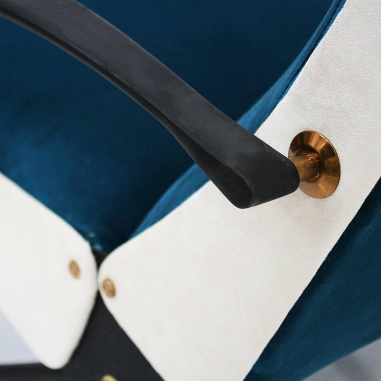 Lounge Chair Model P40 Designed by Osvaldo Borsani for Tecno 9