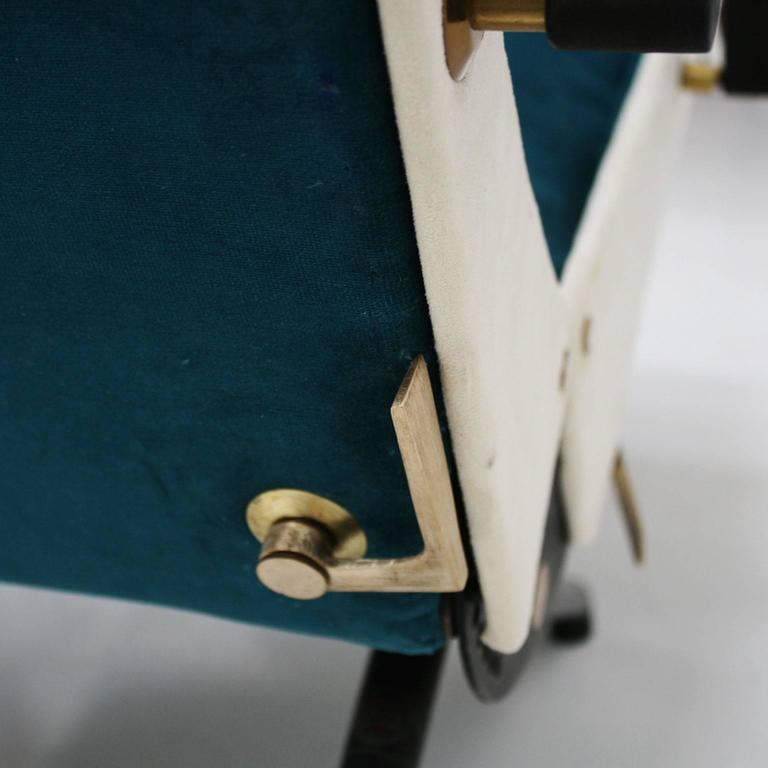 Lounge Chair Model P40 Designed by Osvaldo Borsani for Tecno 7