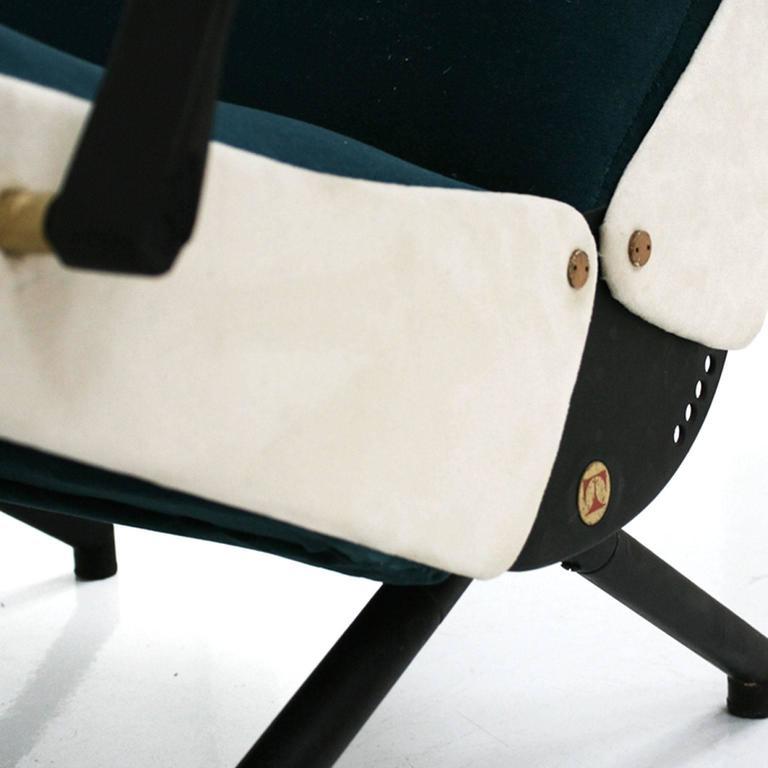 Lounge Chair Model P40 Designed by Osvaldo Borsani for Tecno 8