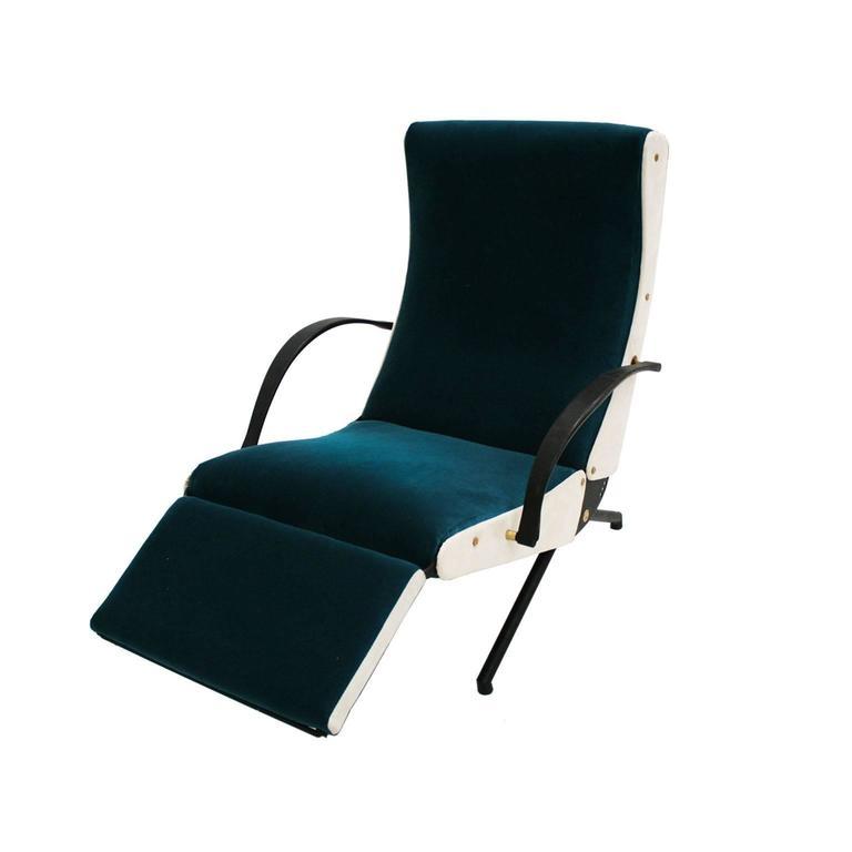 Lounge Chair Model P40 Designed by Osvaldo Borsani for Tecno 4