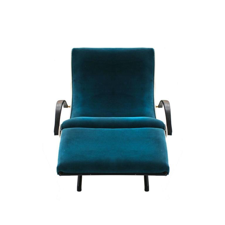Lounge Chair Model P40 Designed by Osvaldo Borsani for Tecno 3