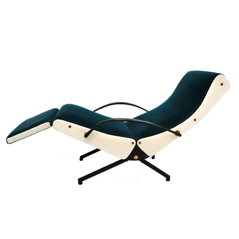 Lounge Chair Model P40 Designed by Osvaldo Borsani for Tecno 2