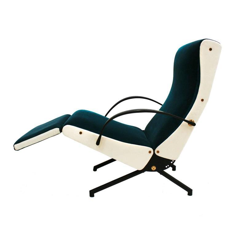Lounge Chair Model P40 Designed by Osvaldo Borsani for Tecno 1