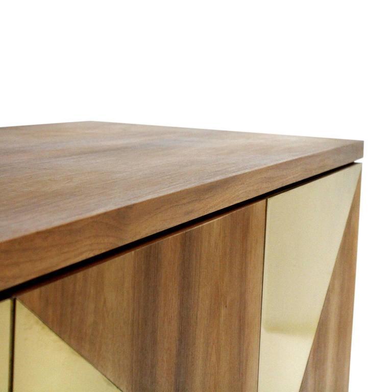 Brass Italian Sideboard For Sale
