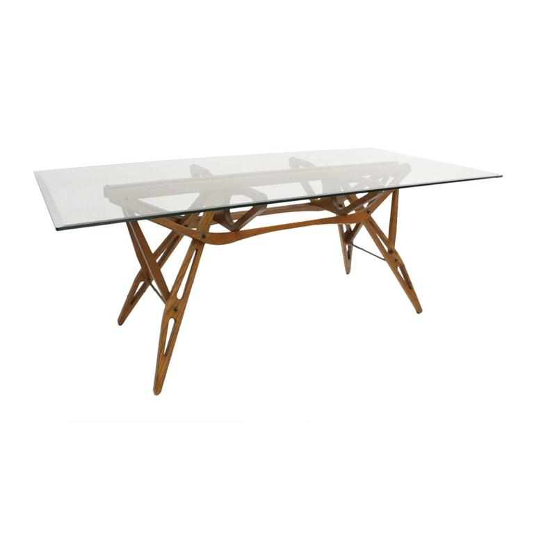 Dining Table Model Reale By Carlo Mollino For Zanotta Italy 1970