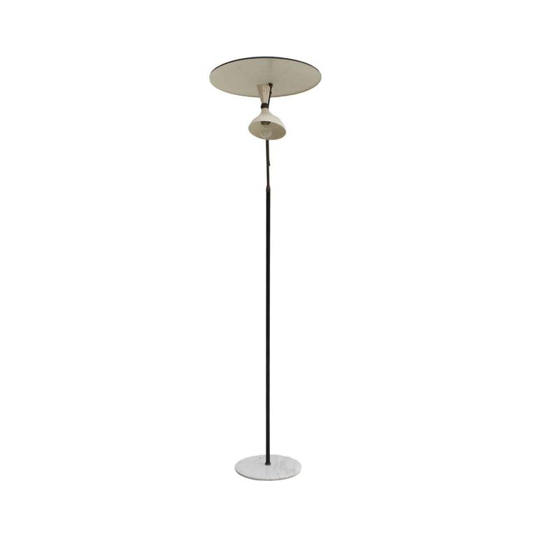 Mid-20th Century Floor Lamp Designed by Stilnovo For Sale