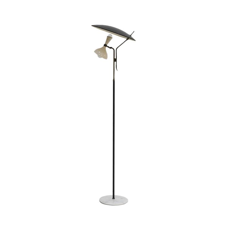 Italian Floor Lamp Designed by Stilnovo For Sale