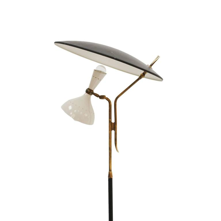 Floor Lamp Designed by Stilnovo In Excellent Condition For Sale In Madrid, ES