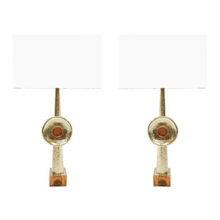 Pair of Italian Table Lamps