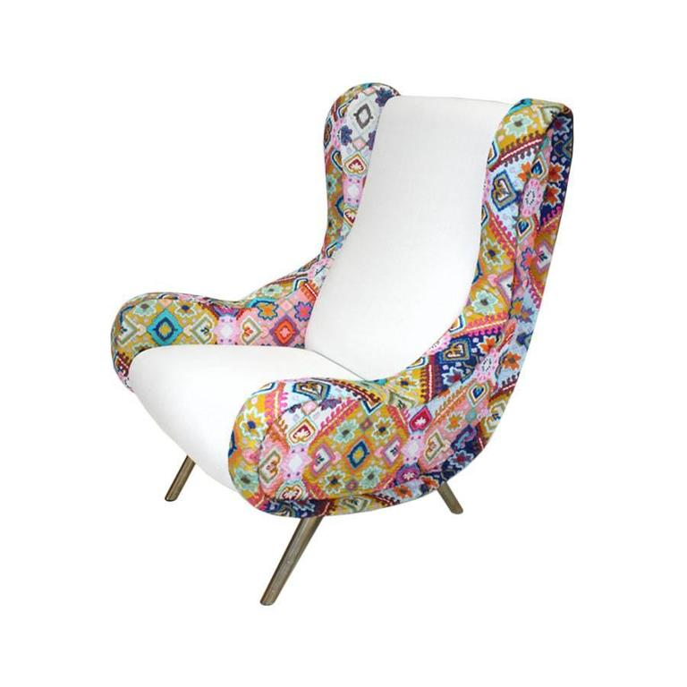 Pair of Armchairs Mod. Senior Designed by Marco Zanuso and Edited by Arflex 3
