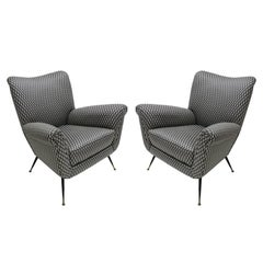Pair of Armchairs Italy, 1950s