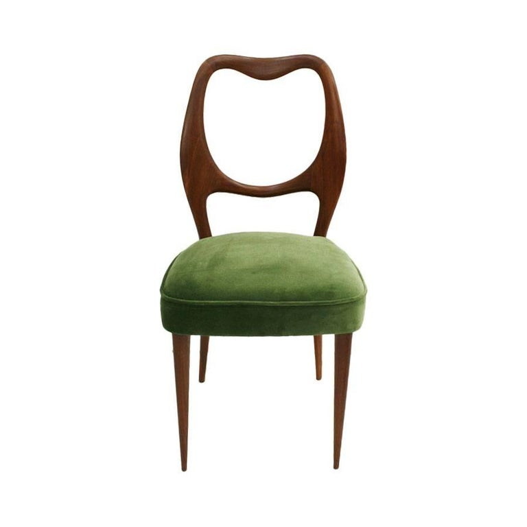 Set of Eight Chairs Designed by Osvaldo Borsani 3