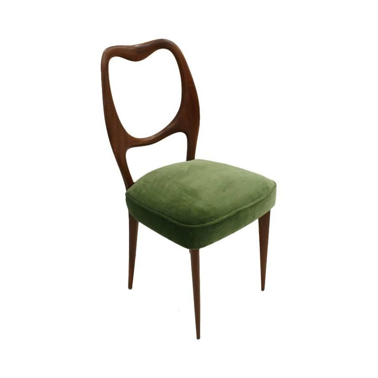 Set of Eight Chairs Designed by Osvaldo Borsani 4